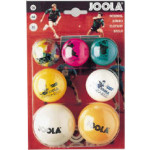 Novelty fun table tennis balls