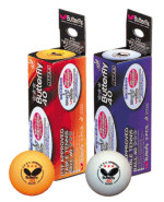 Butterfly table tennis balls