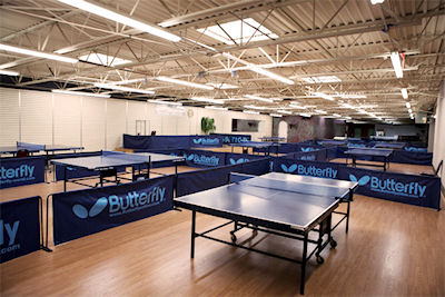Table Tennis Training and Event Center
