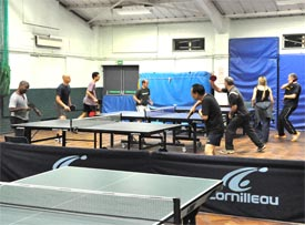 Teddington Table Tennis Club