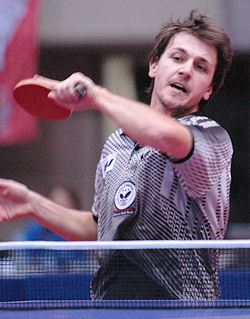 Table tennis player - Timo Boll