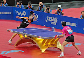 top level table tennis