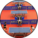 Major table tennis tournaments