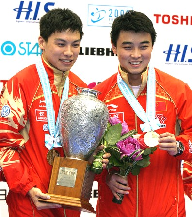 2009 World Championships - Mens Doubles Winners