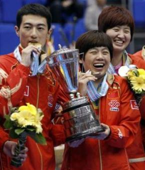 2009 Mixed Doubles World Champions