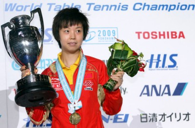 Zhang Yining - 2009 World Champion