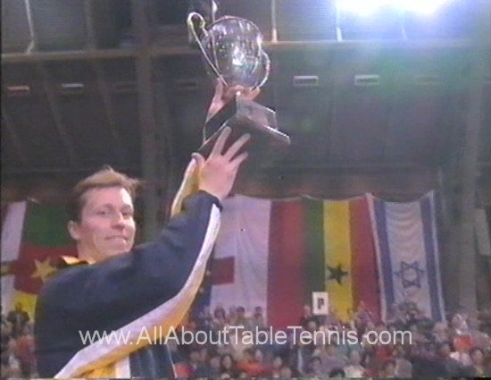 1997 World Champion - Jan-Ove Waldner