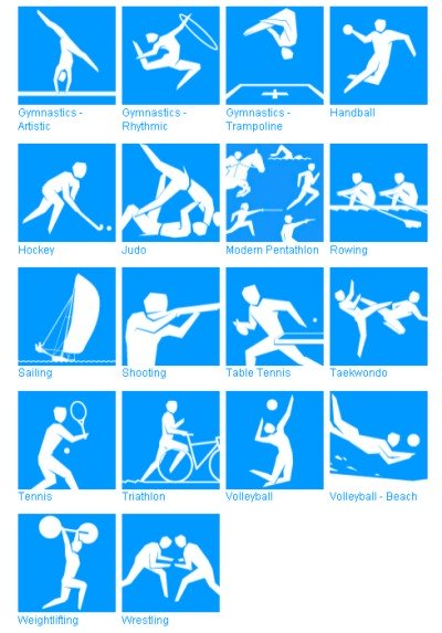 2012 Olympic Games Pictograms