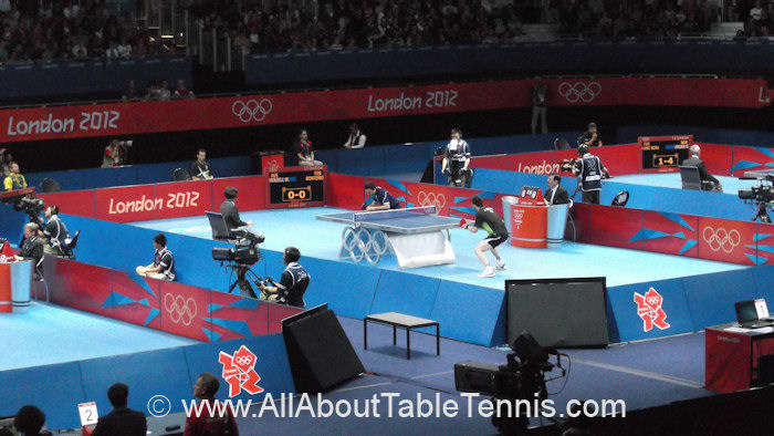 Tinsue floor covering at the 2012 Olympic Games