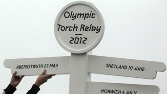 2012 Olympic Games torch relay