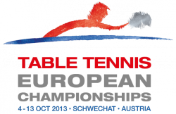 2013 European Table Tennis Championships logo