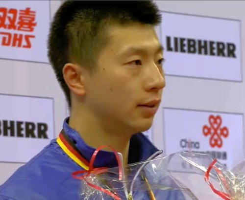 Men's World Cup 2014 Runner-up - Ma Long (China)