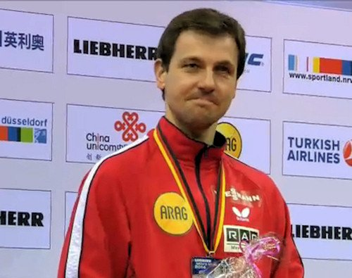 Men's World Cup 2014 3rd Place - Timo Boll (Germany)