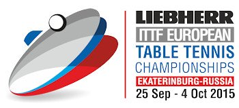 Logo for European Table Tennis Championships 2015