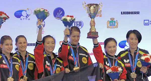 Germany - European Table Tennis Women's Team Champions 2015