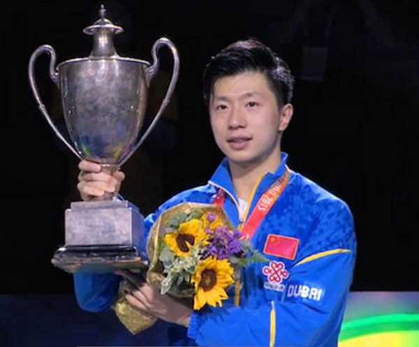 2015 World Championship Men's Singles Winner - MA Long