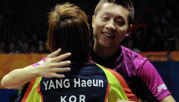 2015 World Championship Mixed Doubles Champions - YANG, Haeun (South Korea) / XU, Xin (China)