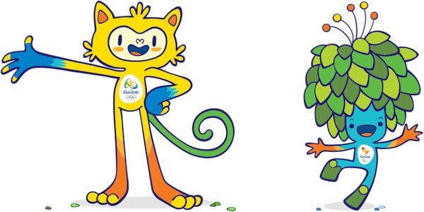 2016 Olympic Games Mascots