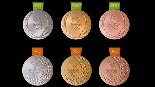 2016 Olympic Games Gold Medal