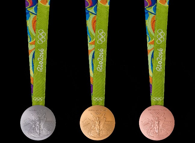 2016 Olympic Games Medals for Table Tennis