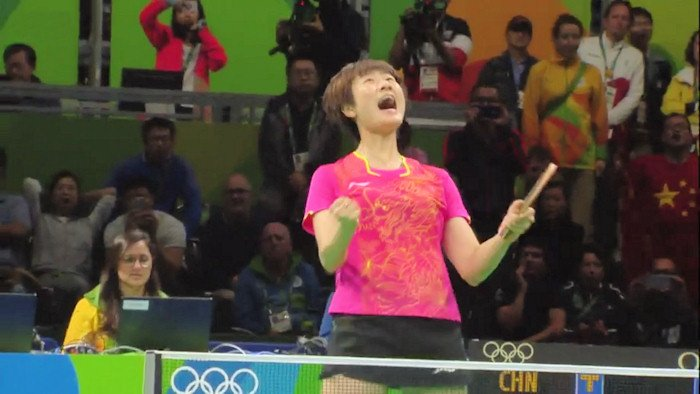 2016 Olympic Games Women's Singles Event Gold Medal winner - Ding Ning