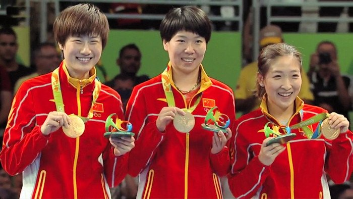 Women's Team Event Gold medal winners - China