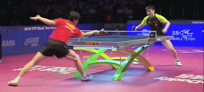 2016 ITTF World Tour Grand Finals - Ma Long and Fan Zhendong