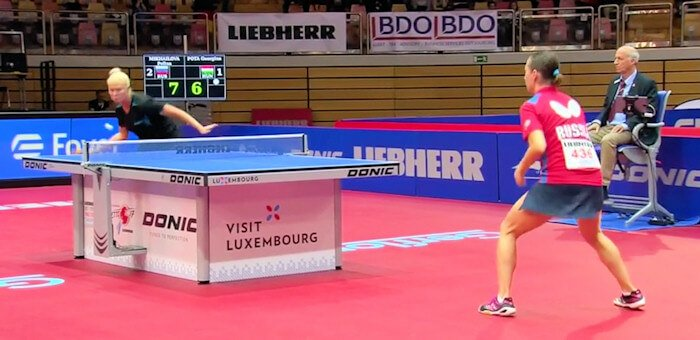 Polina Mikhailova beats Georgina Pota to secure the victory for Russia