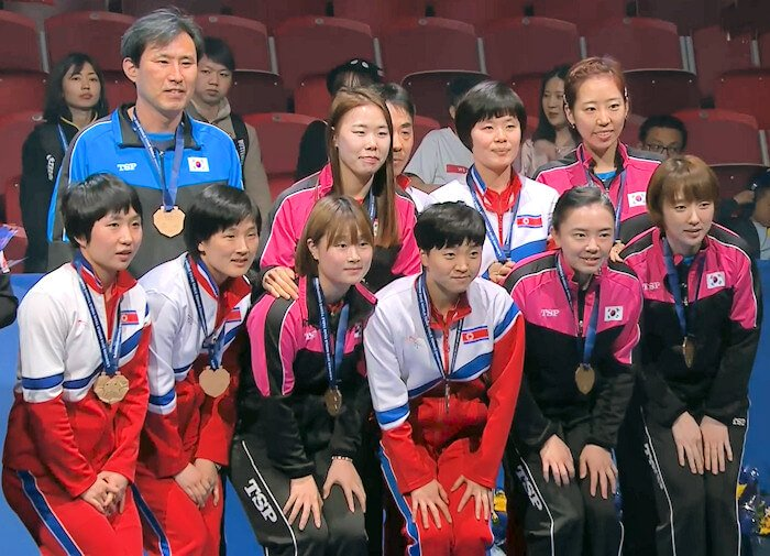 2018 World Team Championships - Korea - Bronze Medallists