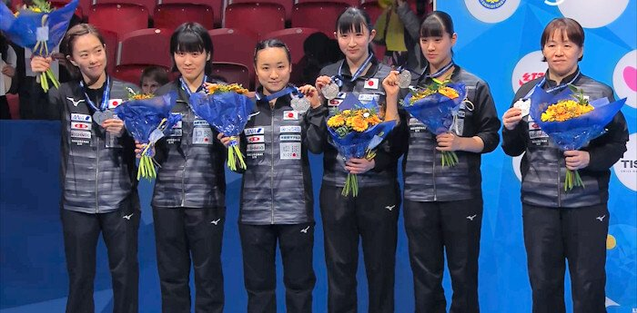 2018 World Team Championships - Japan - Silver Medallists