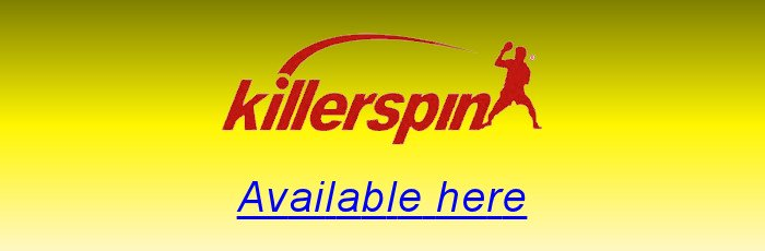 Killerspin table tennis equipment available here