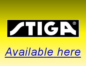 Stiga table tennis equipment available here