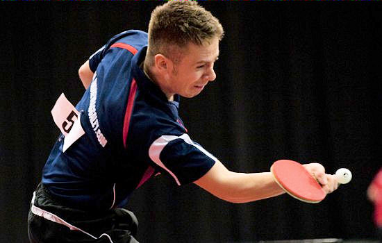 Andrew Baggaley Team GB Table Tennis