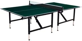 Table tennis tables with adjustable legs