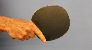 backhand table tennis grip