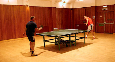 Table Tennis at Gunnersbury Triangle Club