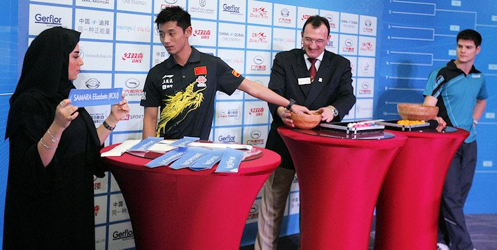 ITTF World Tour 2013 Grand Finals Draw