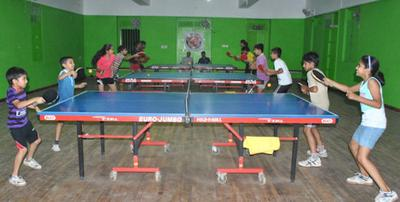Our Table Tennis Hall