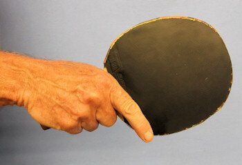 Table Tennis Blade - the Western grip
