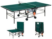 Rollaway table tennis table