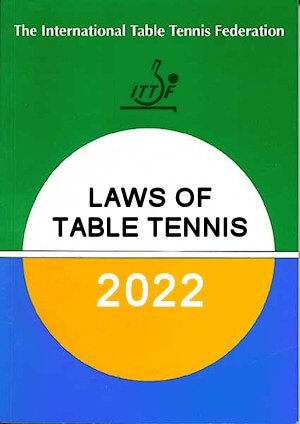 The official rules of table tennis