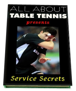 Table Tennis Book - Service Secrets