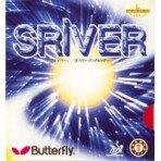 Butterfly table tennis - Sriver rubber