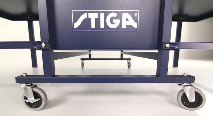 Stiga Expert Roller T82201 table tennis table undercarriage