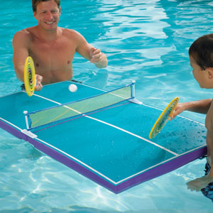 Swimming Pool Table Tennis
