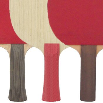 Table Tennis Blade - Handle Styles