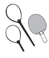 Table tennis racket history