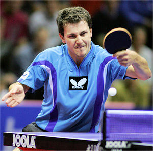 Table tennis stroke - backhand drive