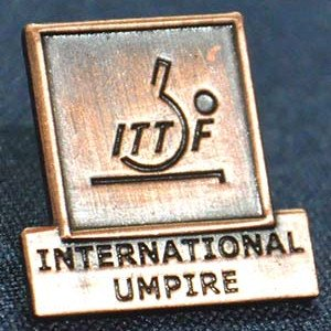 Officials in Table Tennis - ITTF Badge
