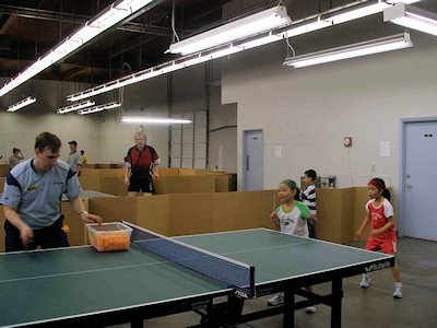 Willamette Table Tennis Club
